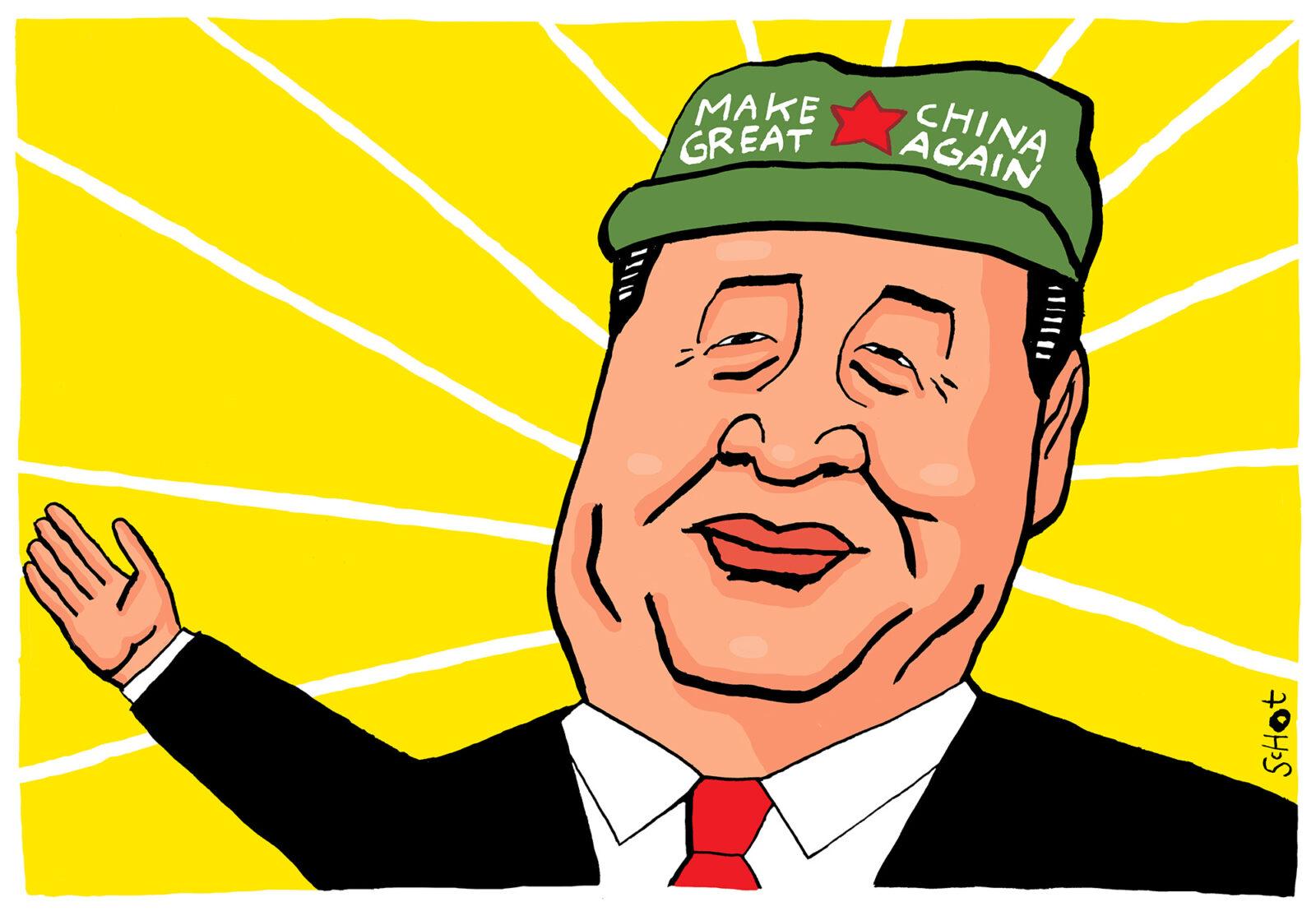 kwestie china supermacht hegemonie amerika trump 2000 – Bas van der Schot