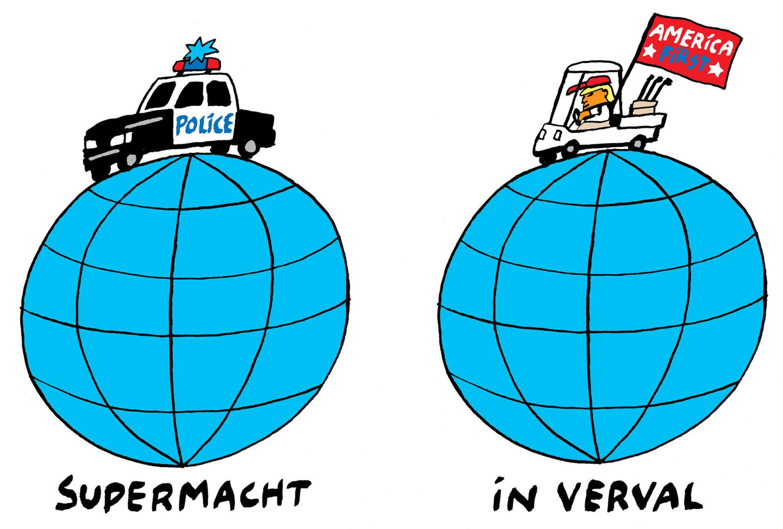 kwestie politieman USA supermacht in verval NL 2000 – Bas van der Schot