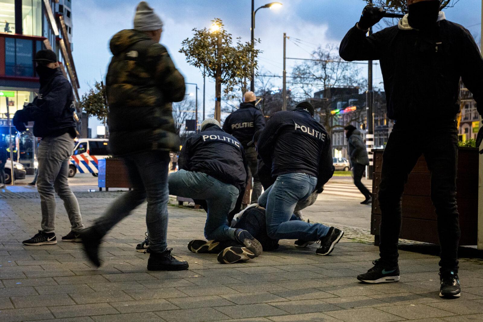 Arrestatie op Kruisplein