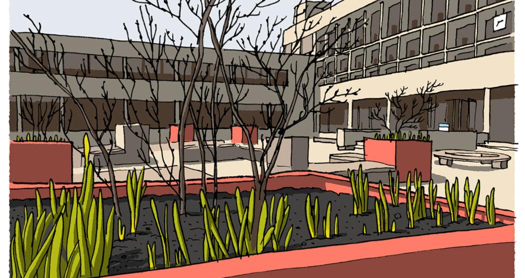 lente campus leeg grauw – ikrotterdam