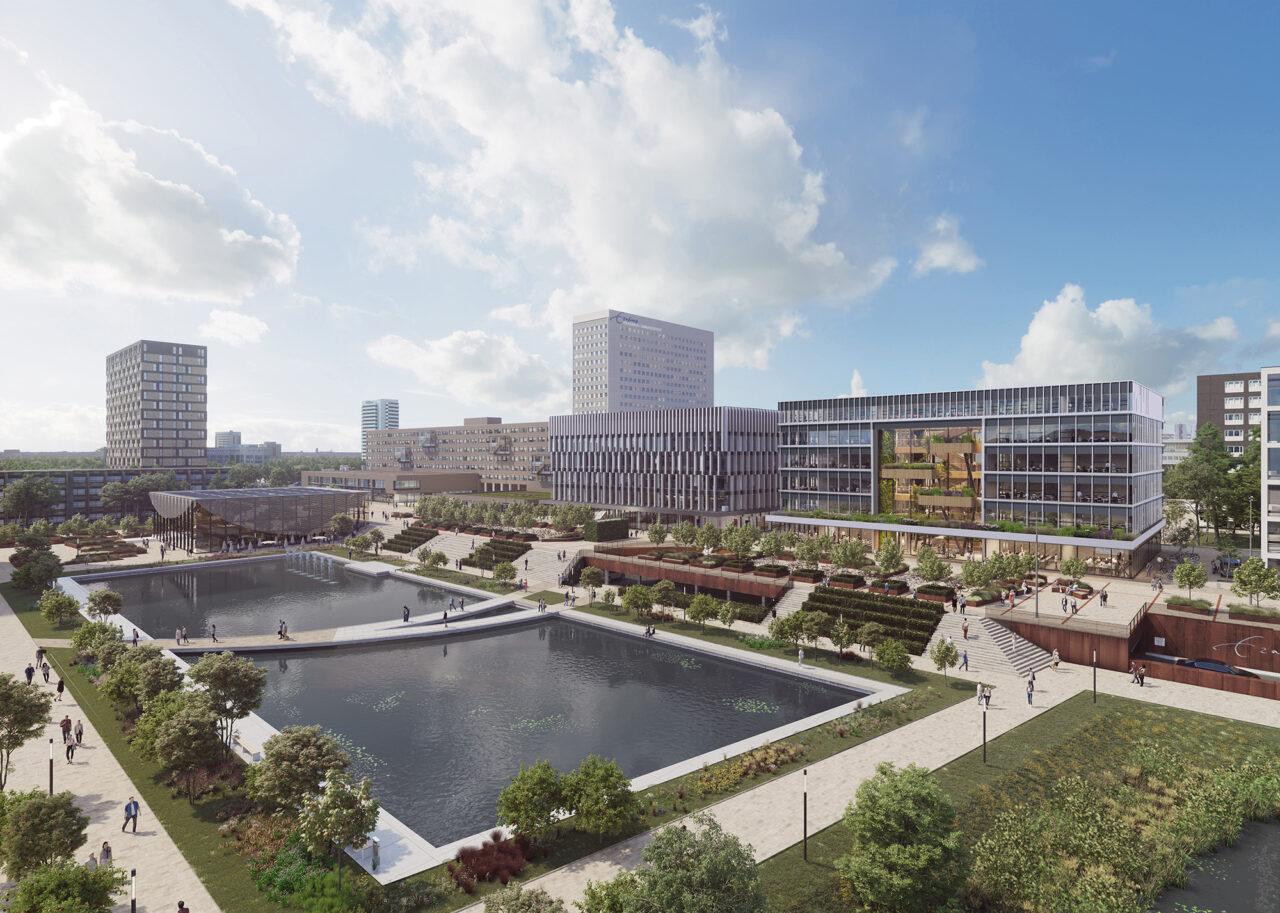 multifunctioneel onderwijsgebouw 2 hele Campus – paul de ruiter architects