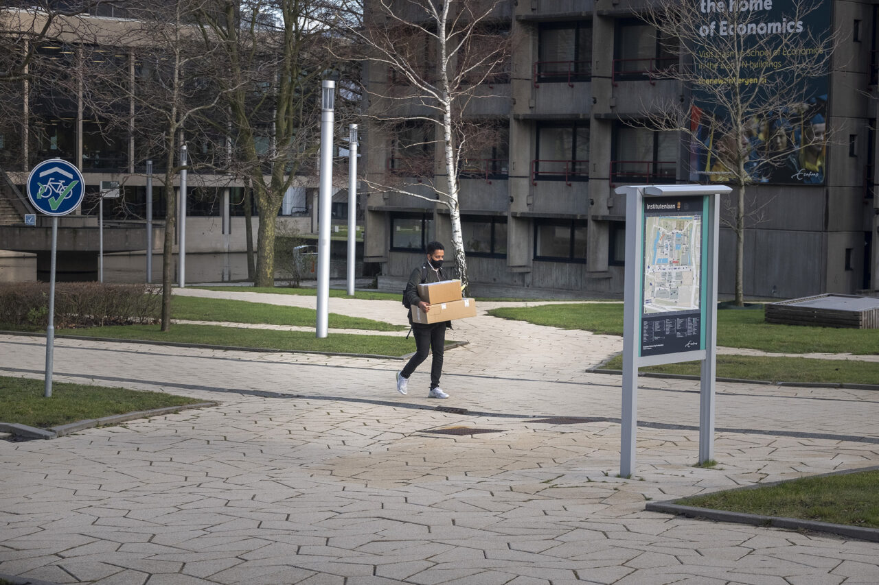 student campus woudestein corona lege campus – Levien Willemse