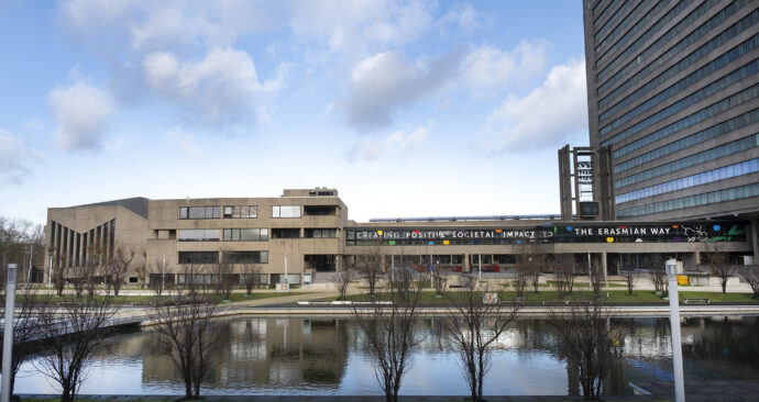 campus positive impact erasmian way loopbrug carrillon aula tinbergen – Levien Willemse