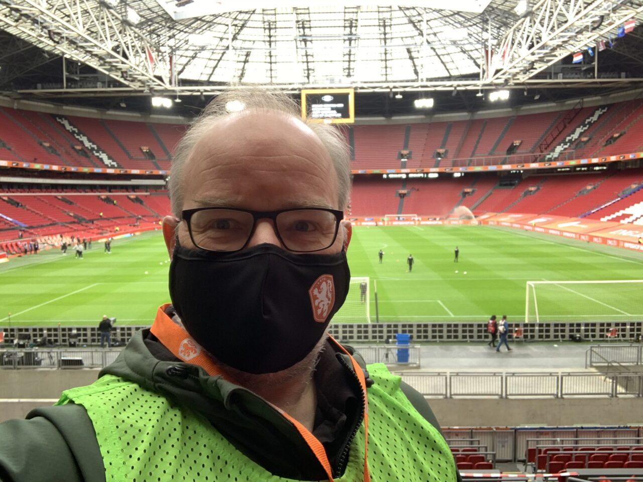 job van exel fieldlabs coronacheck eshpm Amsterdam Arena eigen foto (EM)