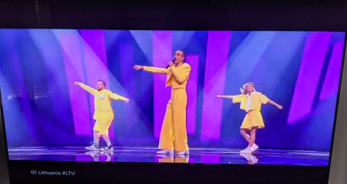 lithuania ltu eurovision song contest 2021 (EM)