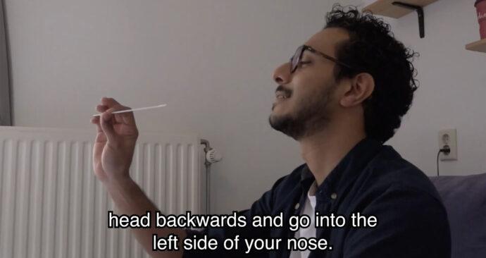 Ferayed video zelftest corona unboxing
