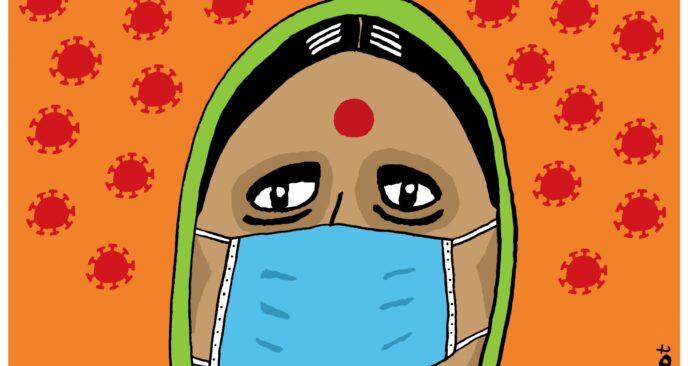 em-moeder india corona-def