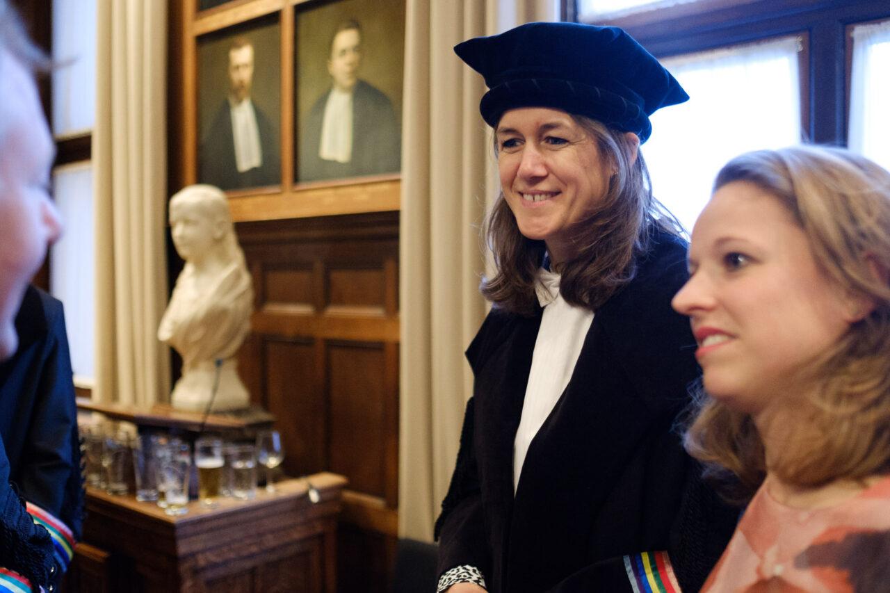Annelien Bredenoord bij oratie utrecht maart 2018 – Sebastiaan ter Burg