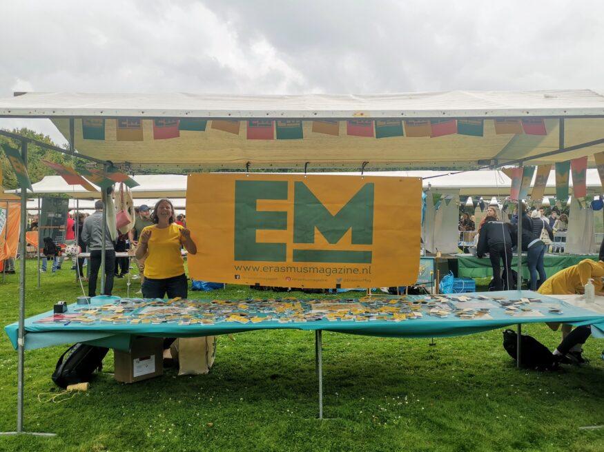 campuskraam op Eurekaweek 2021