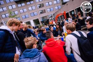 Campus en campusdag bij de Eurekaweek_foto door Eurekaweek