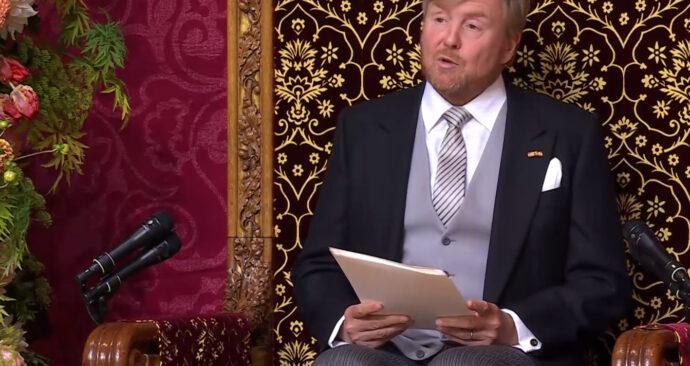 Troonrede 2021 koning Willem-Alexander