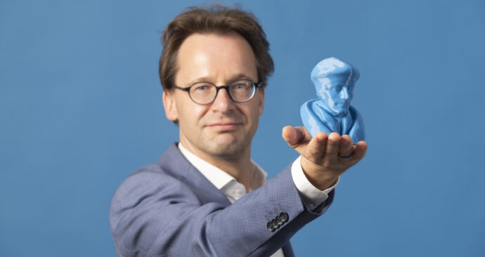Ronald van Raak met Erasmus – Levien Willemse