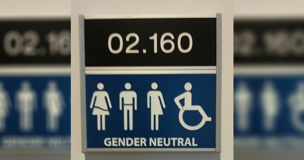 genderneutraal toilet Radboud universiteit