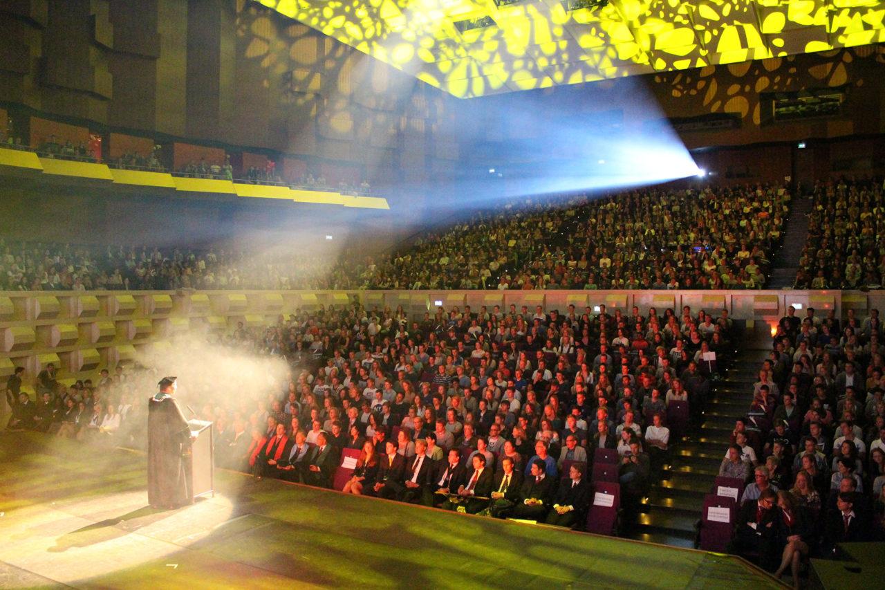 opening eurekaweek huib pols eerstejaars 2015