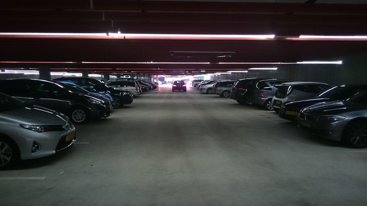 parkeergarage erasmus campus Woudestein