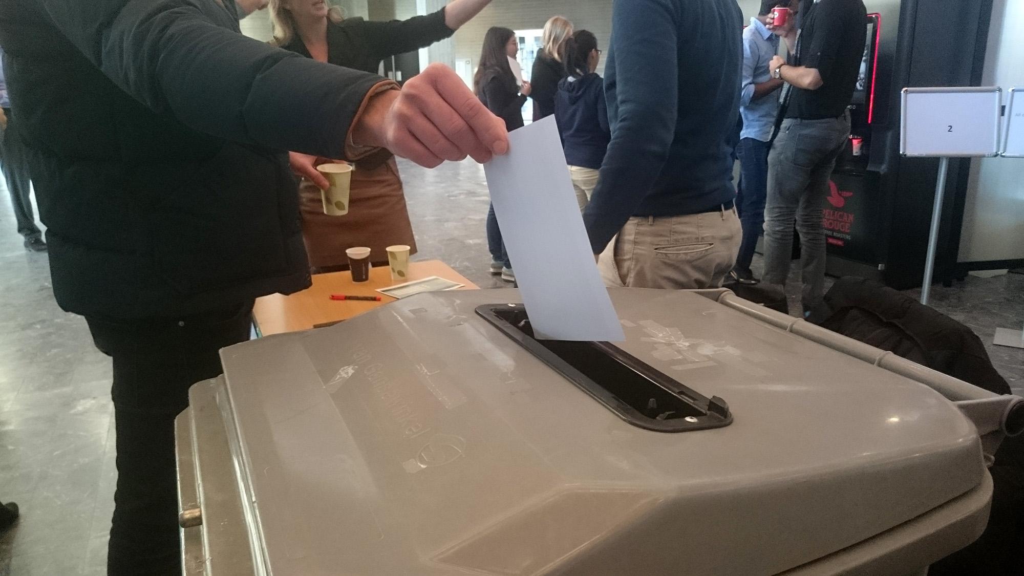 koffieproeven stembus stemmen verkiezingen