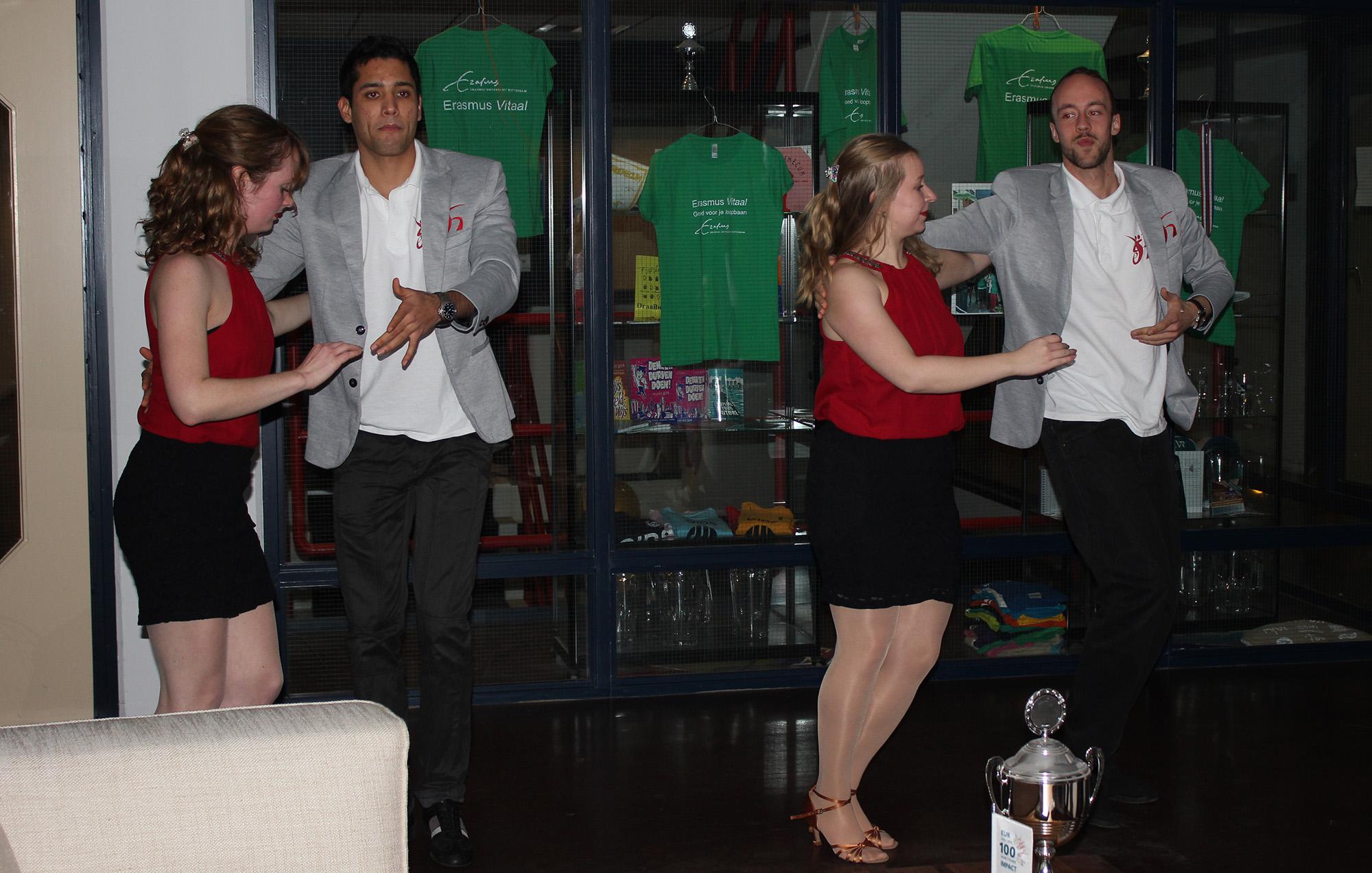 Erasmus Dance Society Roomservice festival