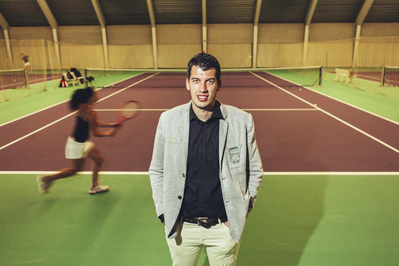 Jasper de Ruijscher, voorzitter RTSV Passing Shot 2015-2016