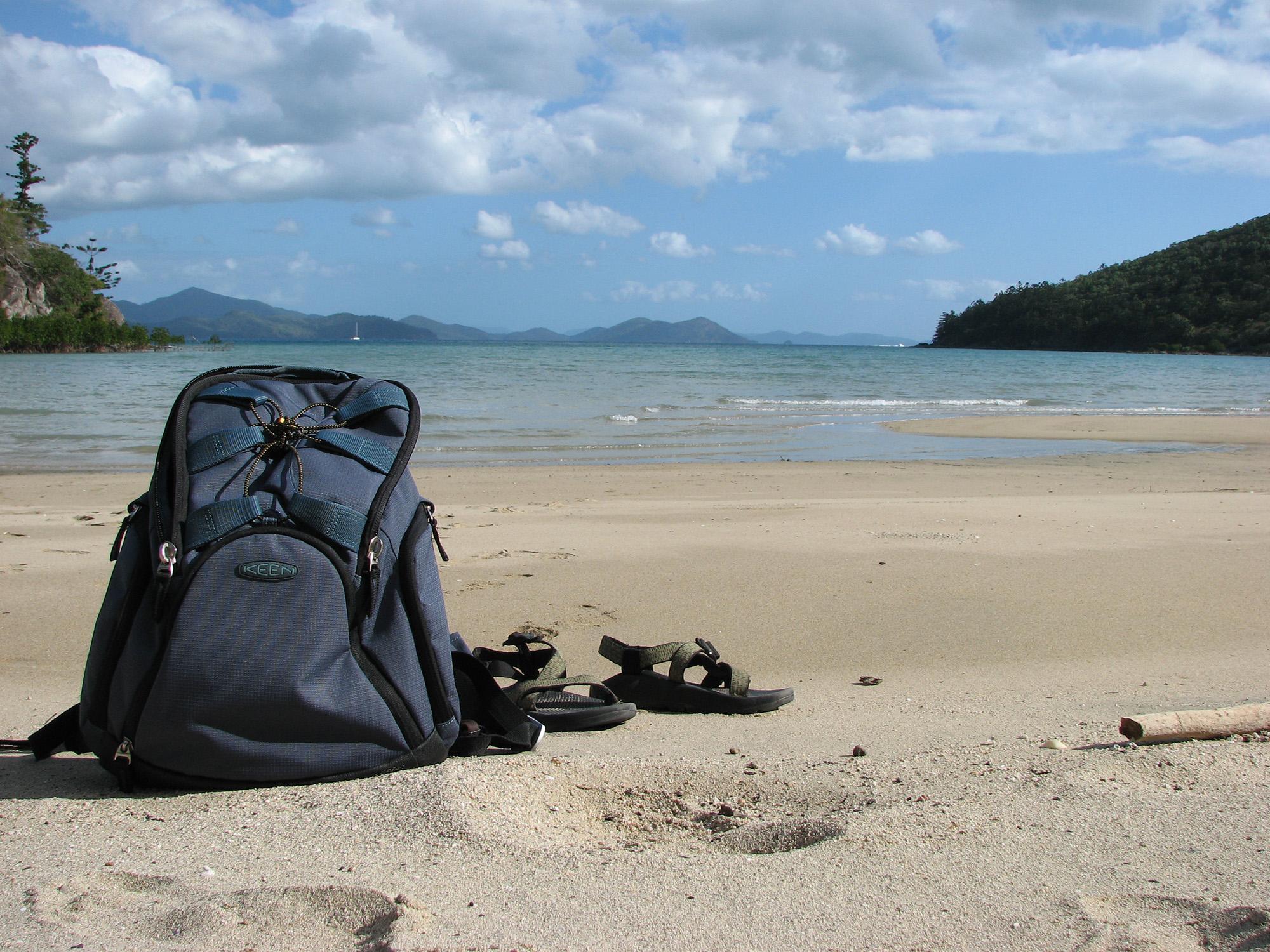 backpacking strand tussenjaar