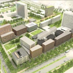 campus Woudestein masterplan