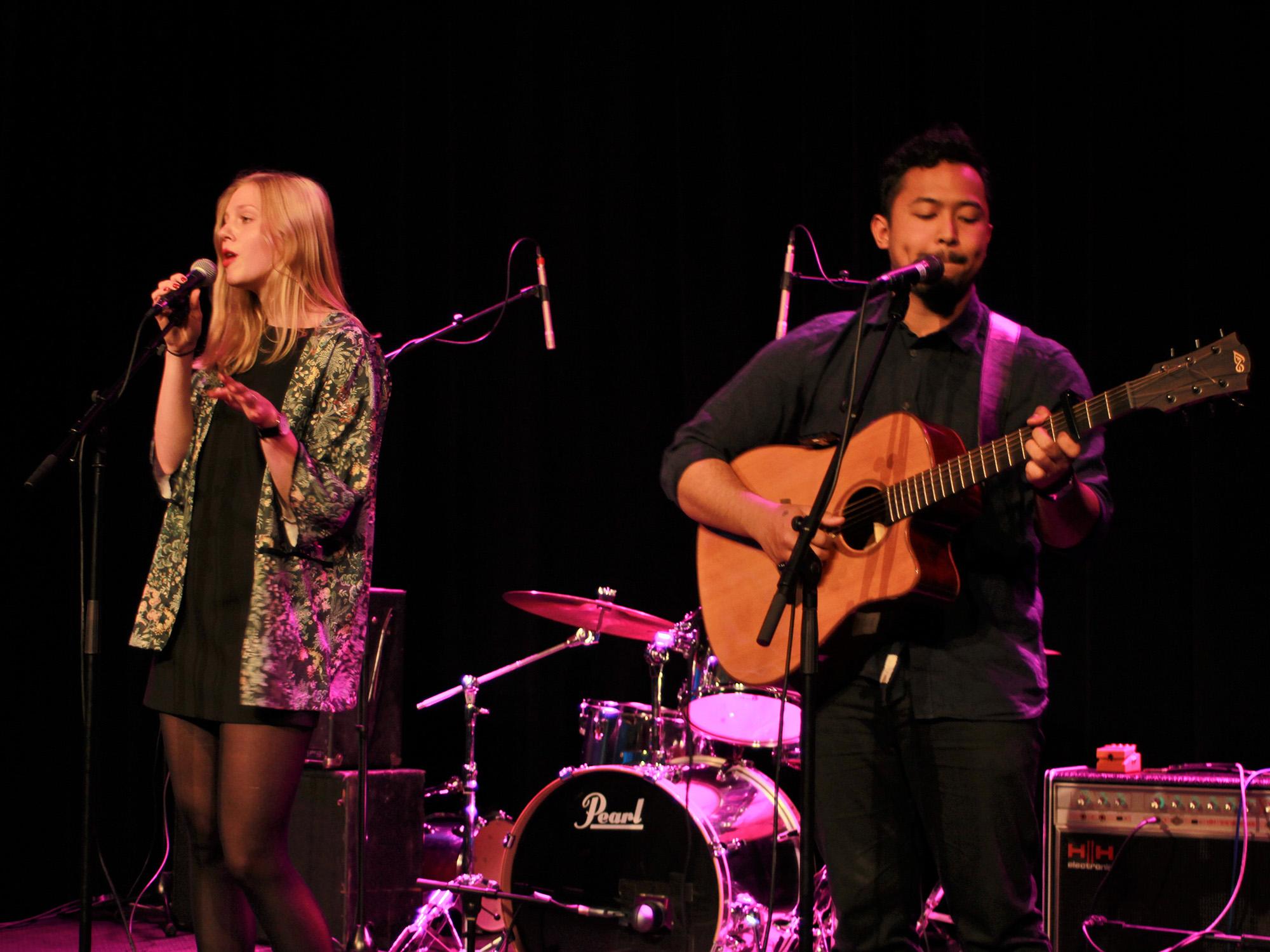 Open Stage Night paviljoen Lisa&Syarif