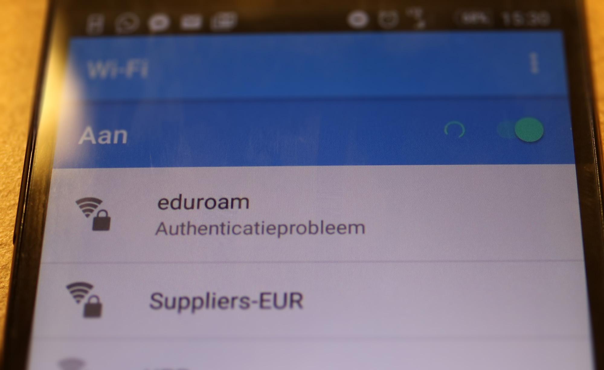 eduroam-authenticatieprobleem-android