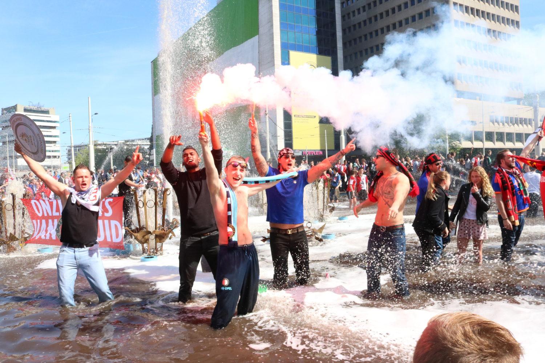 Feyenoord Kampioen foto Laanen