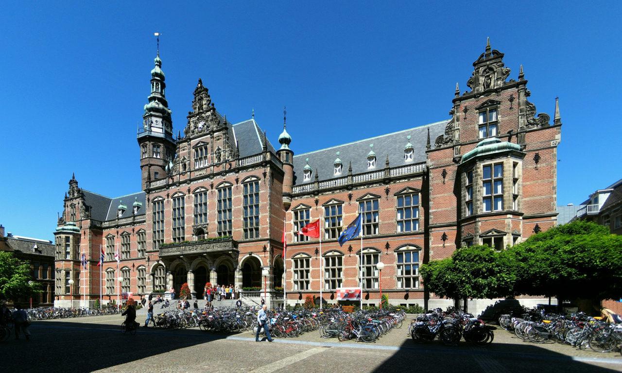 Het Academiegebouw in Groningen