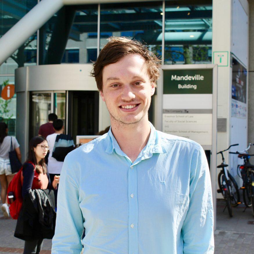 Pepijn van der Salm (22), ex-penningmeester van de STAR Management Week