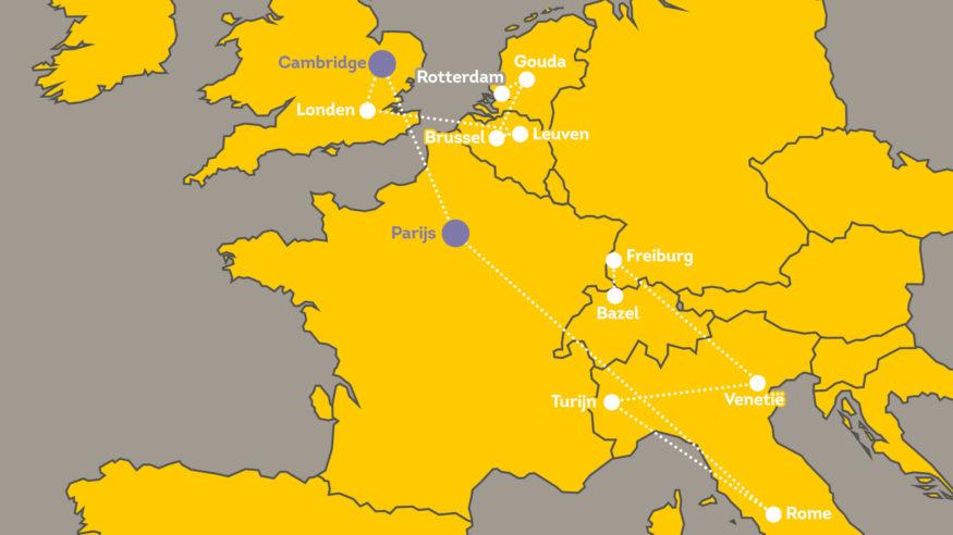 EM_Op_Zoek_kaart Cambridge en Parijs