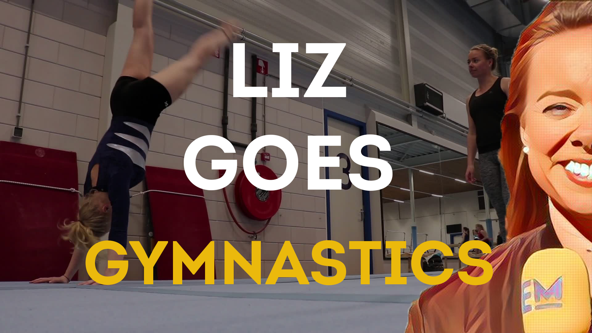 liz goes gymnastics