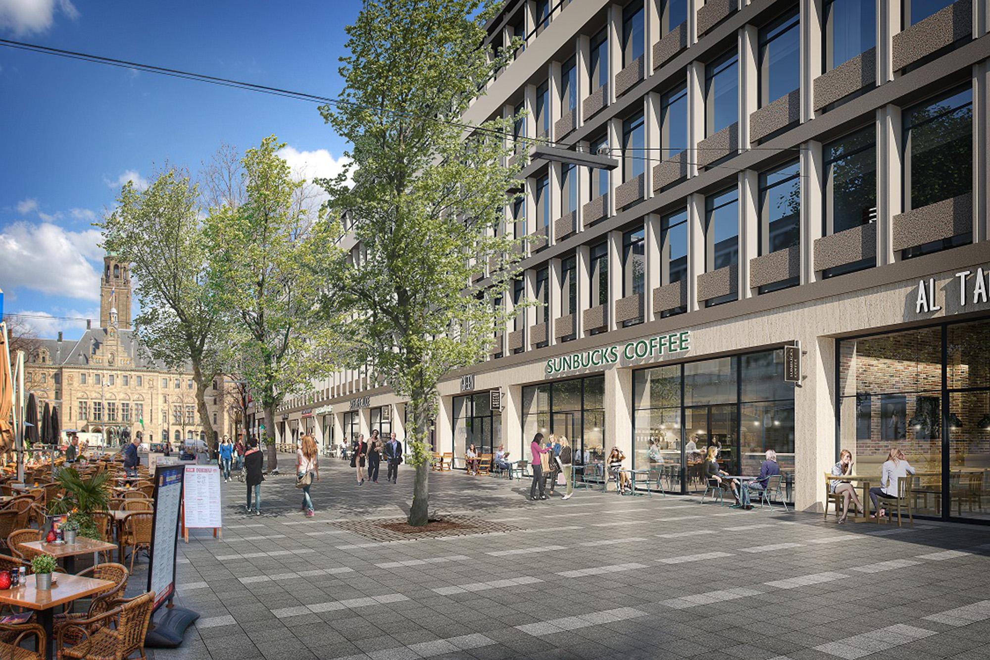 EUChousing_Stadhuisplein_WilsumVanLoon