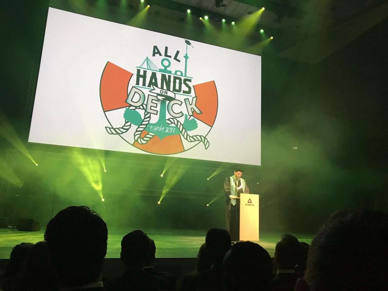 opening eurekaweek 2017 speech pols twitter erasmusuni