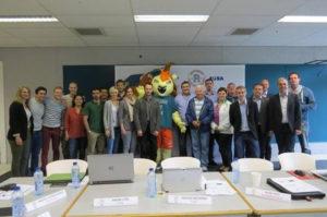 mascotte-Roffa-EUSA-delegatie-erasmus-sport-eu-games