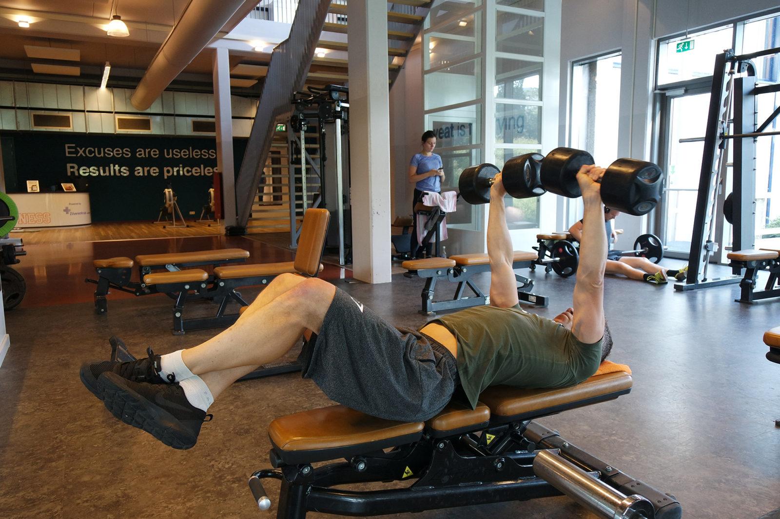 fitness hall, Erasmus Sport