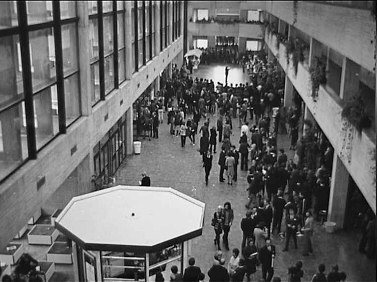 C hall in the Theil Building (1971)