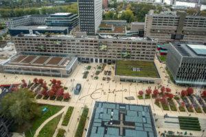 Campus Woudestein EUR, Tinbergen Building (2018) eerstejaarsquiz