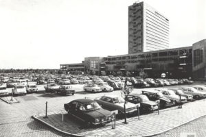 The parking lot where Park Noord is now. (1970)