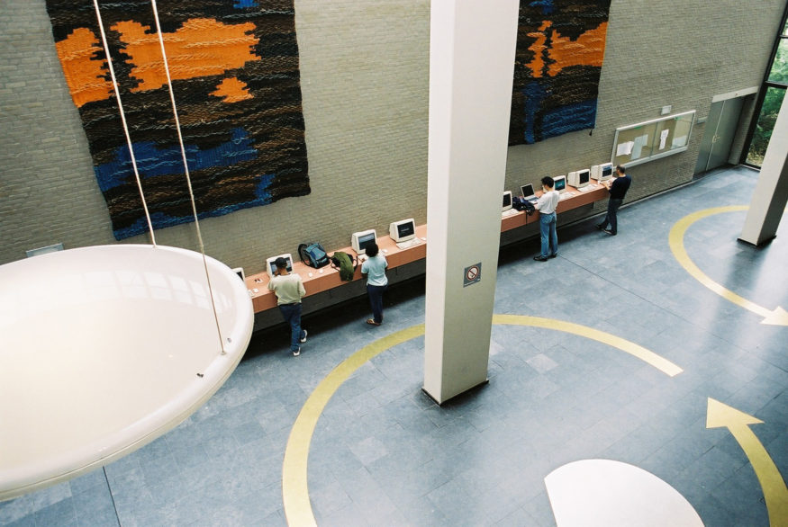 The computers at the Sanders Building (2005)