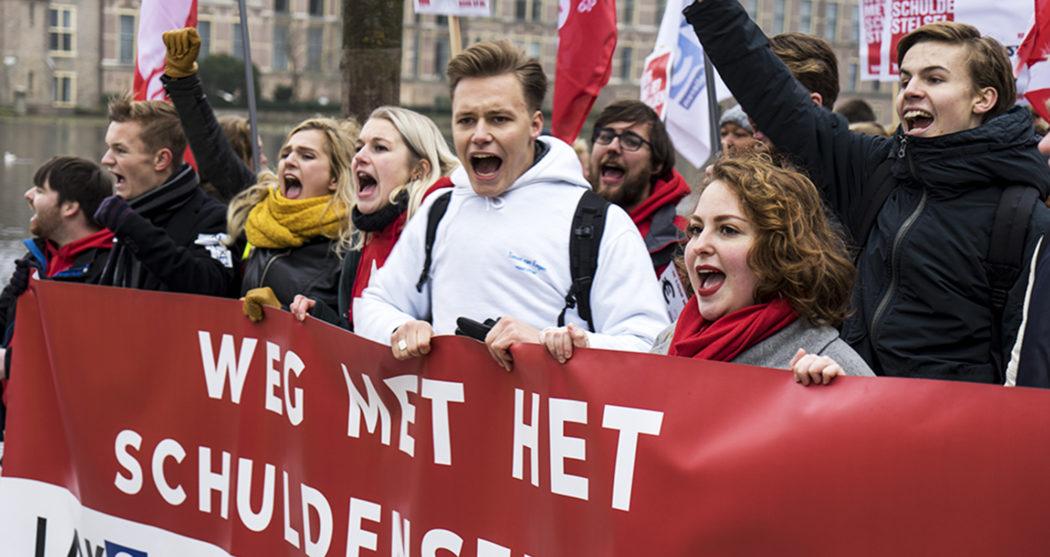 Protestmars-studenten-malieveld-leenstelsel-Sabina-van-Gils