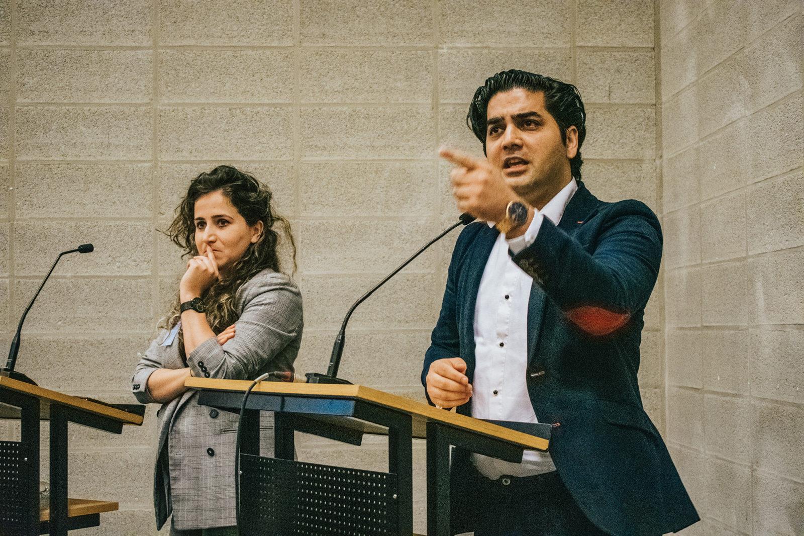 Ehsan-Jami-en-Duygu-Yildirim-debat-toekomst-arbeidsmarkt-Eby-Tafese