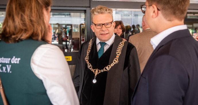 Rutger Engels rector opening academisch jaar 2019 foto ronald van den heerik