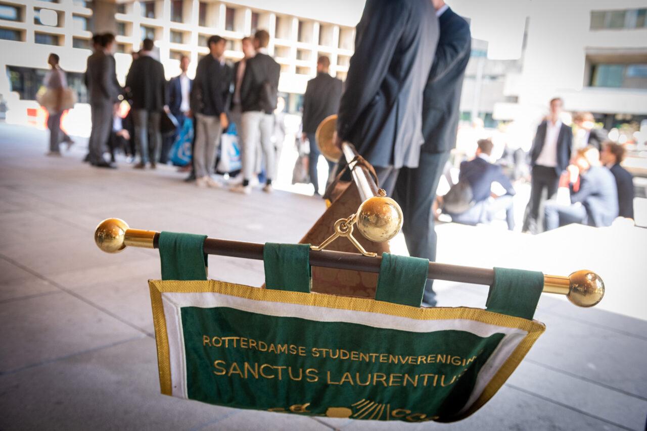 laurentius vaandel opening academisch jaar 2019 foto ronald van den heerik (3)