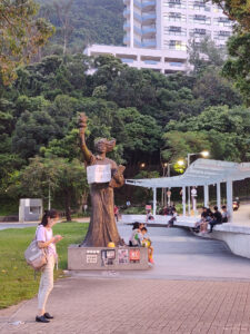 campusprotest in Hongkong – Wouter