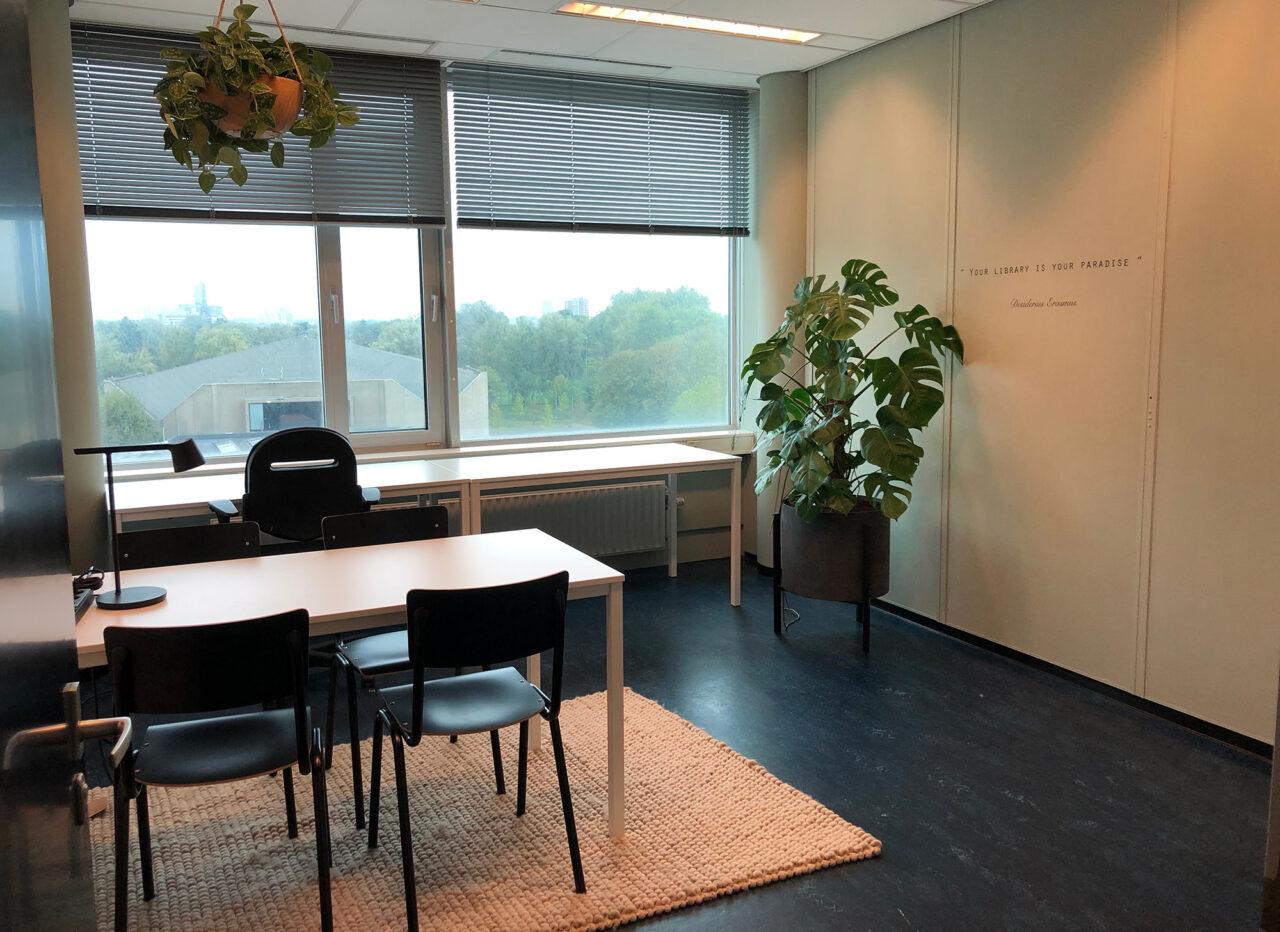 huiskamers tinbergengebouw studieruimtes foto Amber van Workum (1)