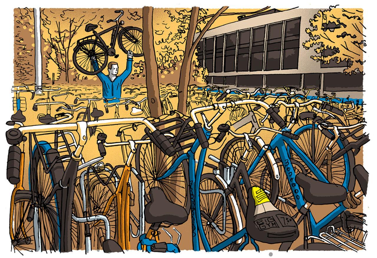ikrotterdam – fietsenmassa
