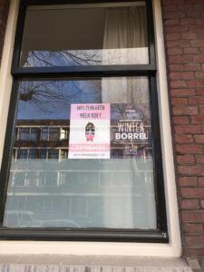 mathenesserweg protest studentenkamers melkkoe verkamering 2