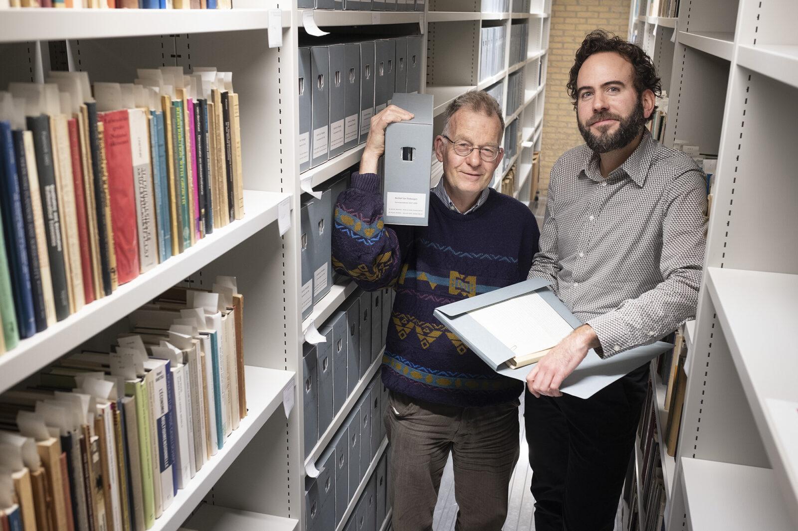Pieter van Leeuwen en Reinier Tuinzaad – Jan Tinbergen – Levien Willemse