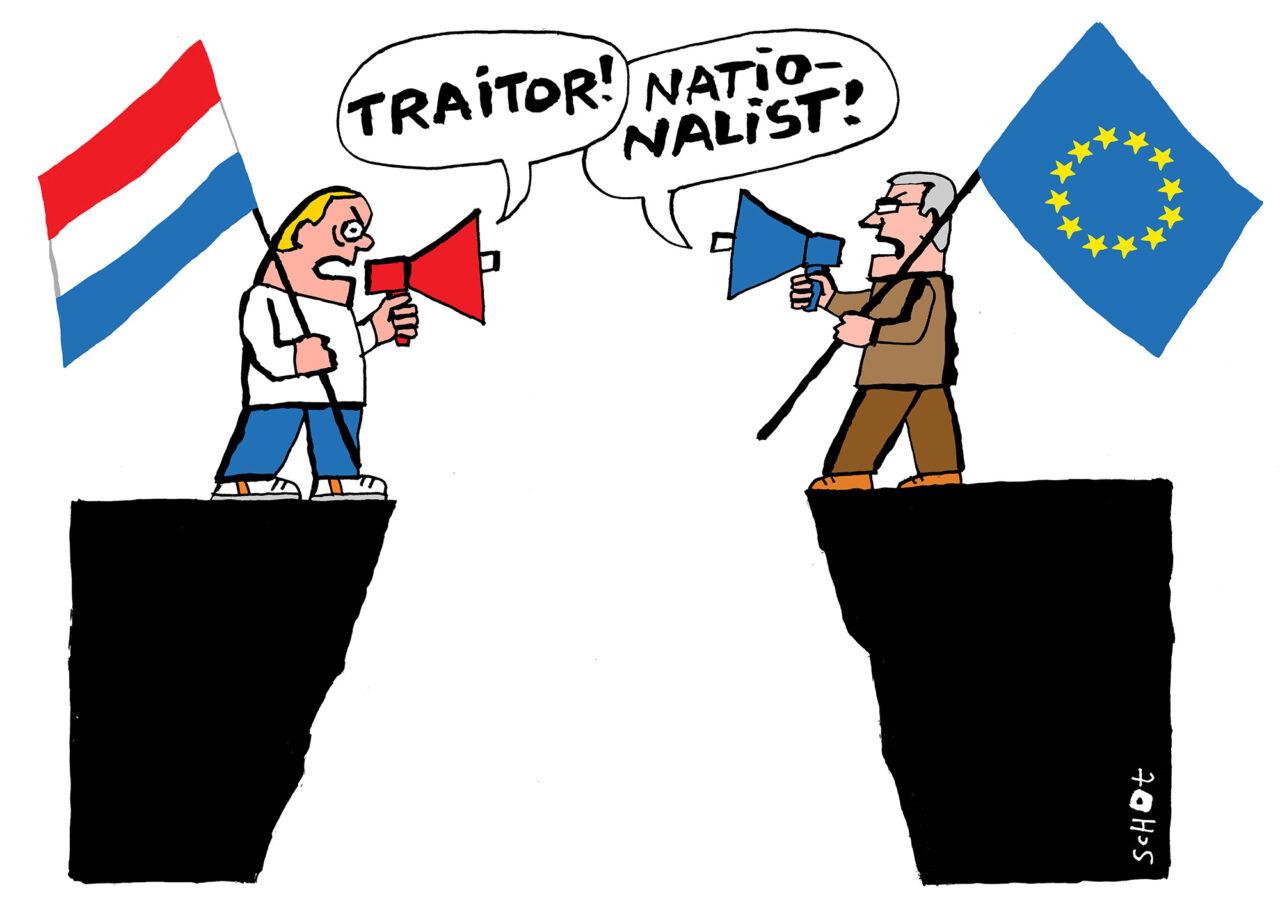 van der schot landverrader nationalist EN