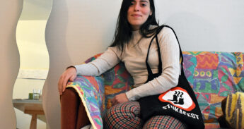 Alexandra Alden – chairman stukafest – Fabienne Hoogendoorn